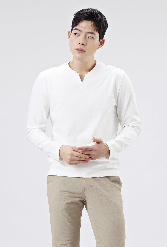 남성 넥트임 티셔츠AAZK5102B01