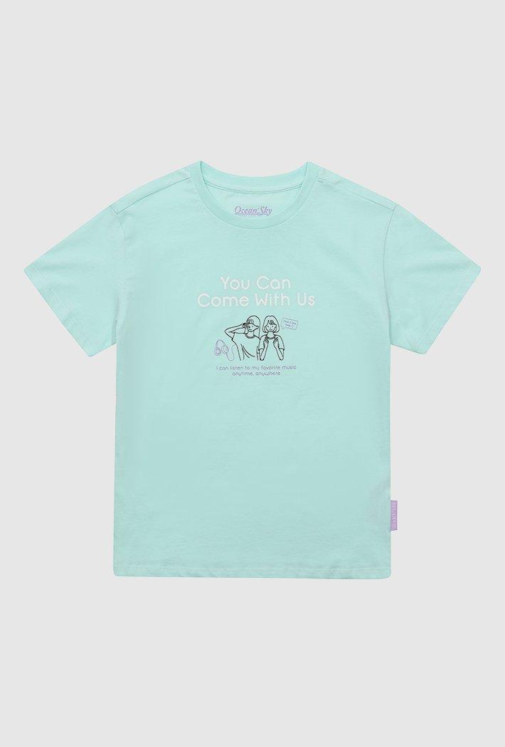 여아 그래픽 티셔츠-ABJG5834D0S