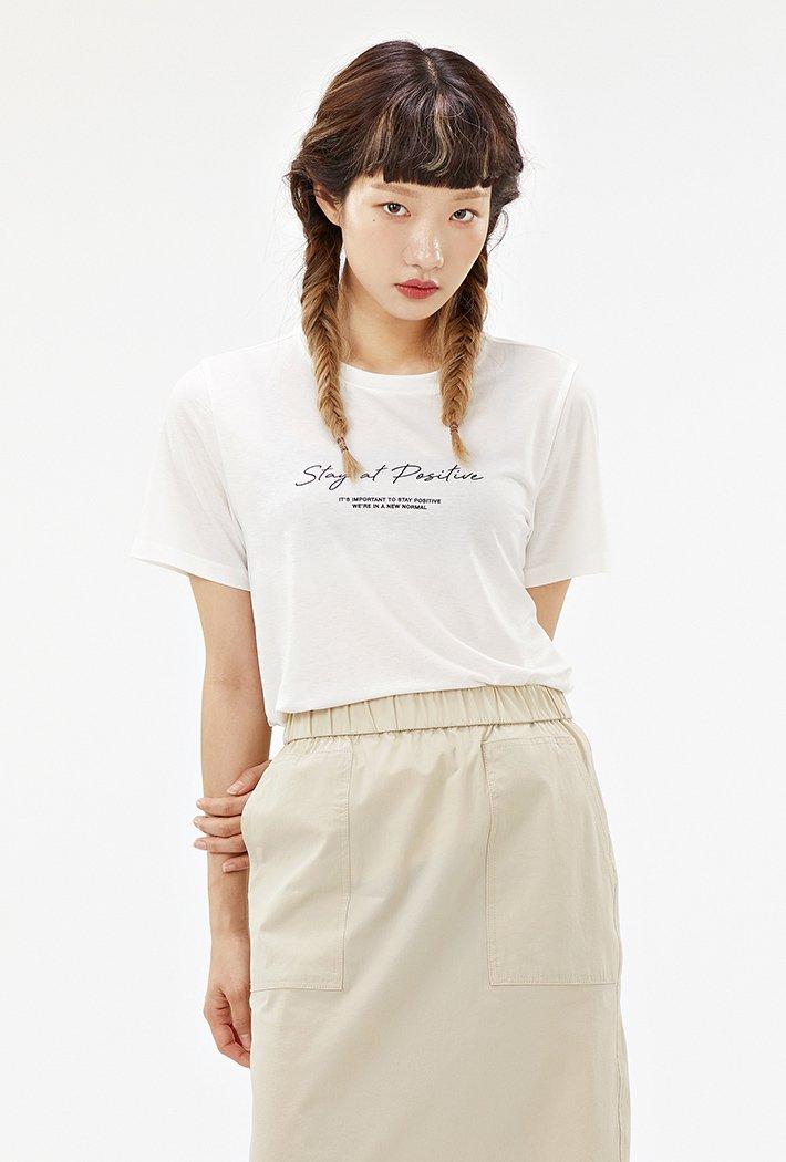 여성 데일리 아이스 티셔츠-ABZG5814D0A