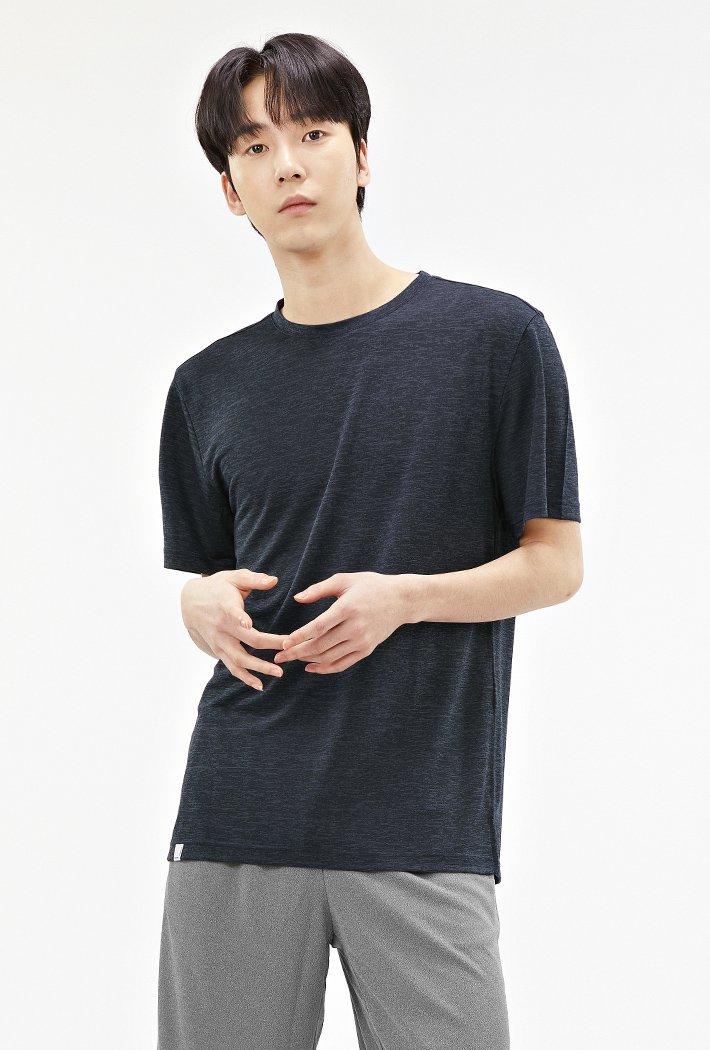 남성 쿨라이트 베이직 티셔츠-ABZK5806D04