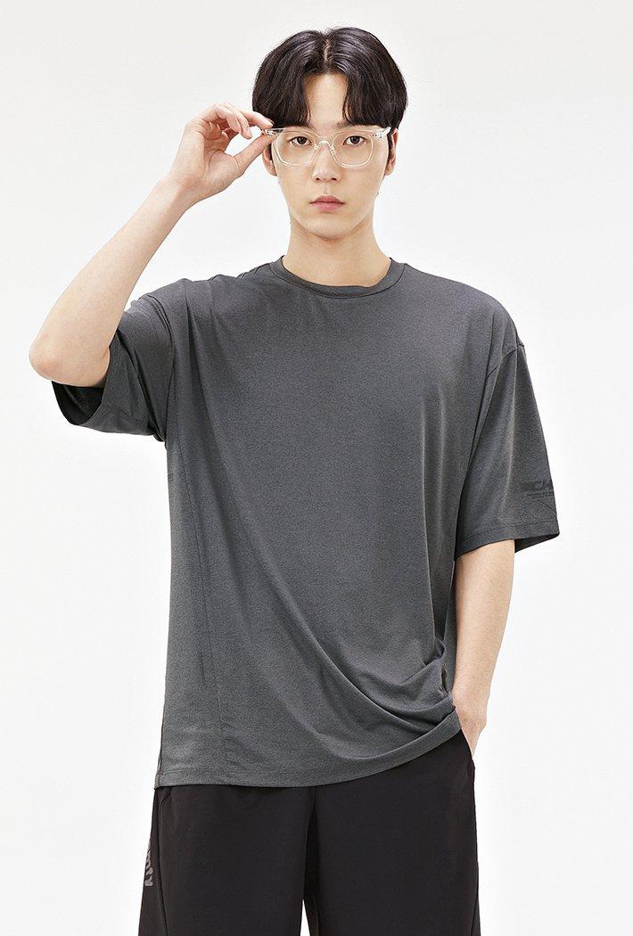남성 스포티브 그래픽 티셔츠-ACAK5843E02