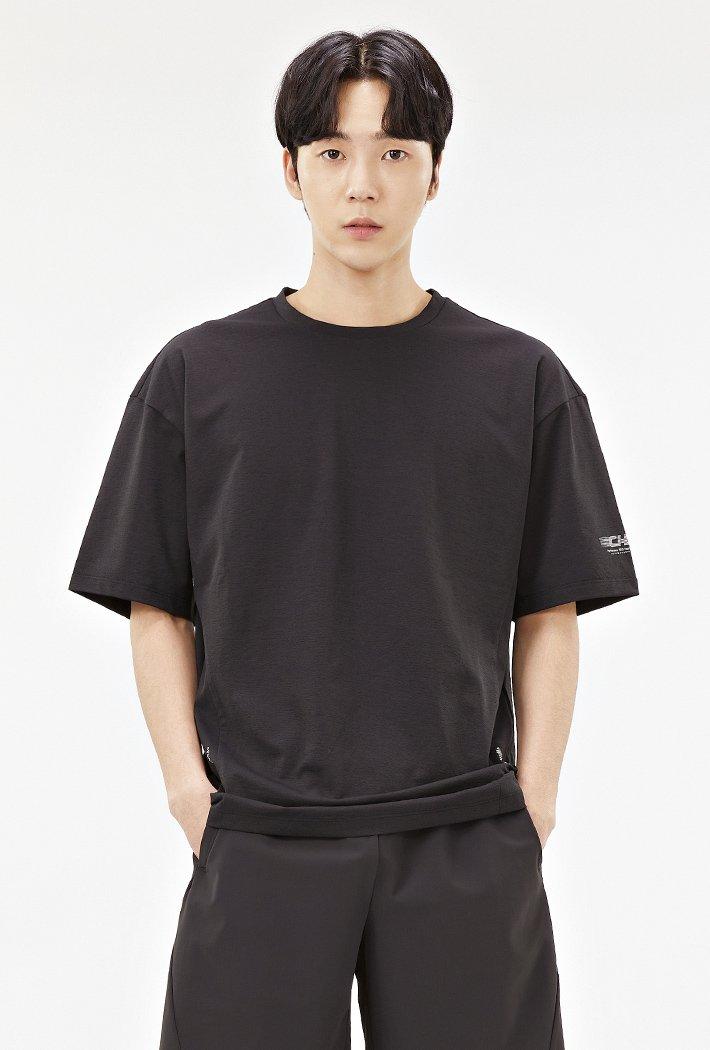 남성 스포티브 그래픽 티셔츠-ACAK5843E03