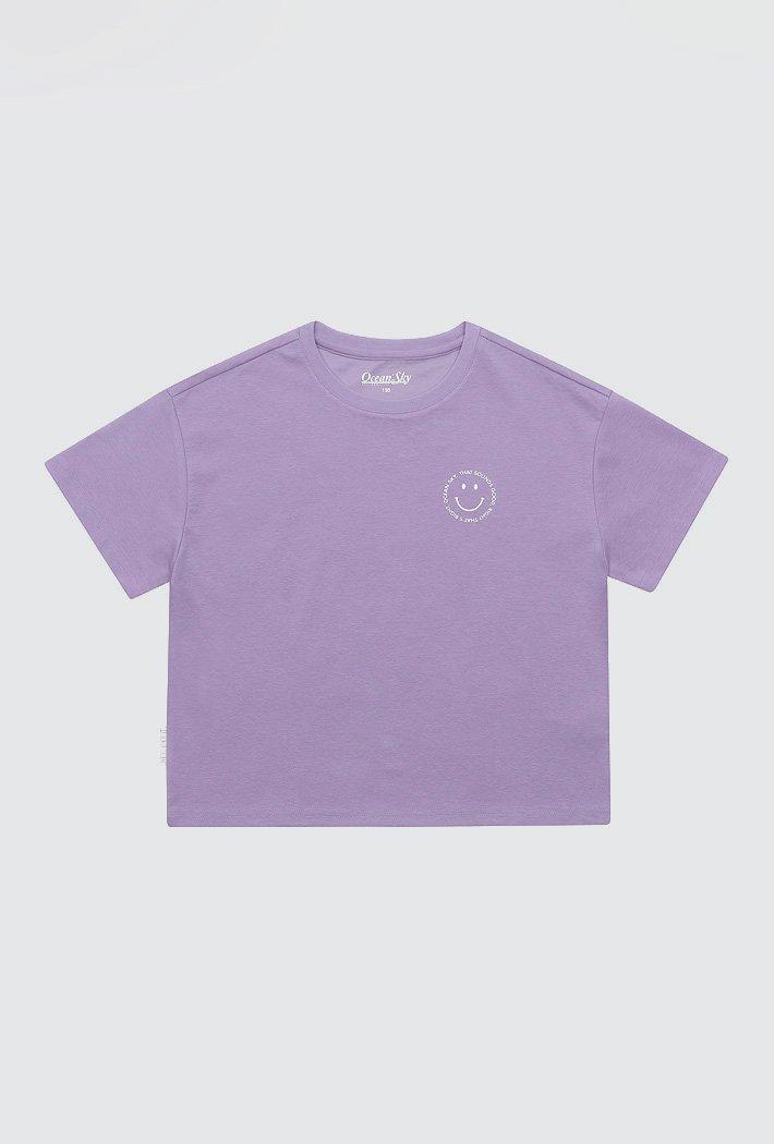 여아 데일리 그래픽 티셔츠-ACJG5864E0T