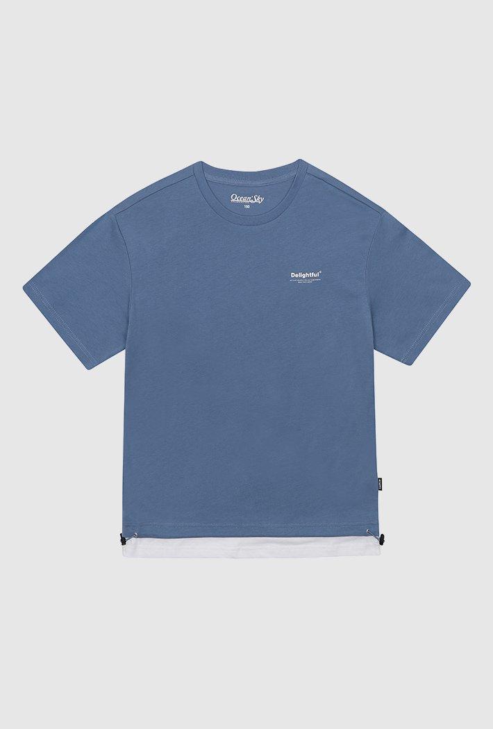 공용 데일리 레이어드 티셔츠-ACJU5863E0D