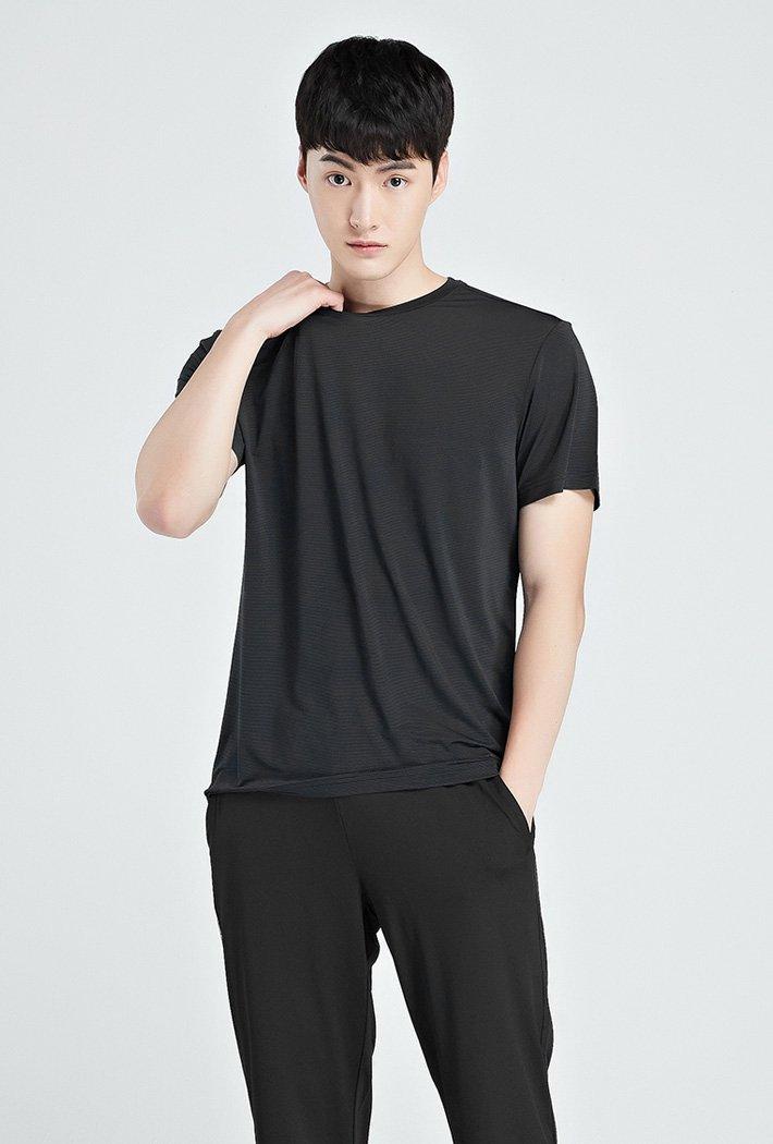 남성 쿨테크 라운드 반팔 티셔츠-KBZK5807D04