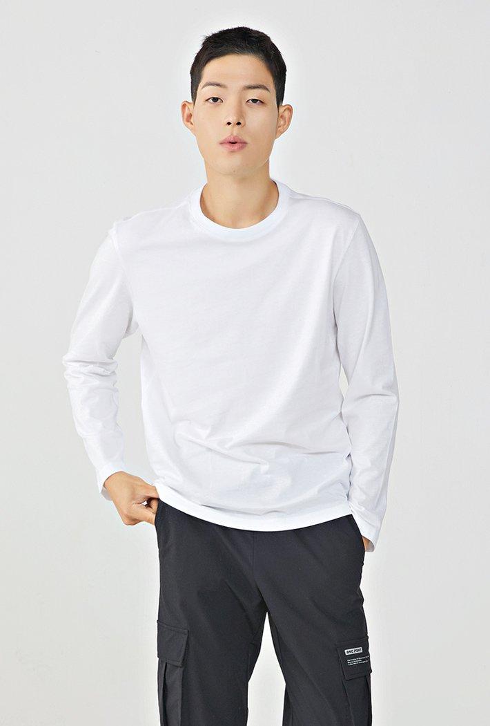 공용 베이직 긴팔 티셔츠KHZU5181A01